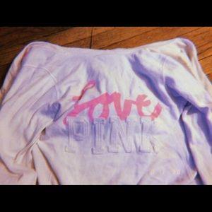 PINK Victoria's Secret Other - Victoria's Secret Pink Sweater Full Zip
